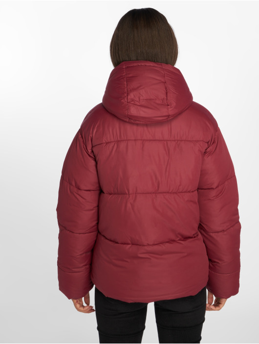 NA-KD Gewatteerde jassen Piper rood