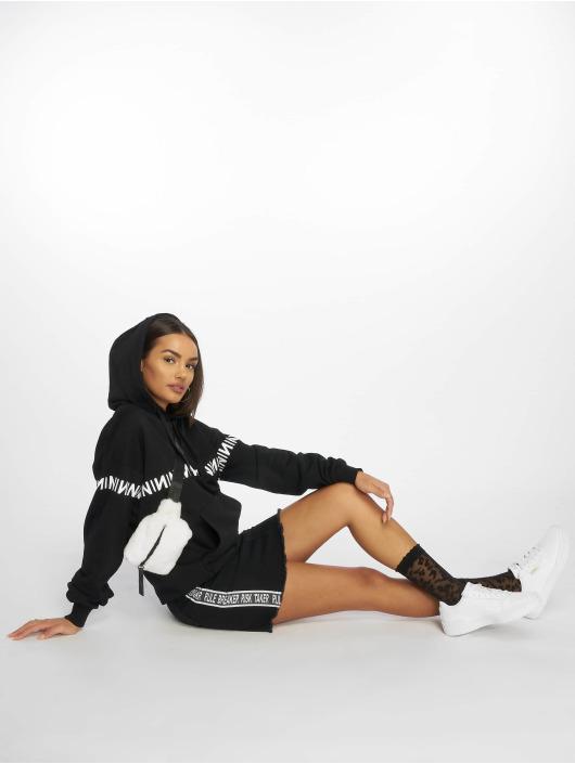 NA-KD Hoodie N-Brand black