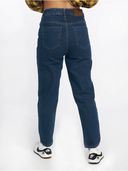 NA-KD Jeans Maman Mom bleu