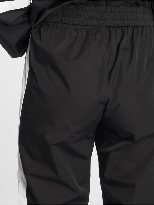 NA-KD Jogging kalhoty Side Stripe čern