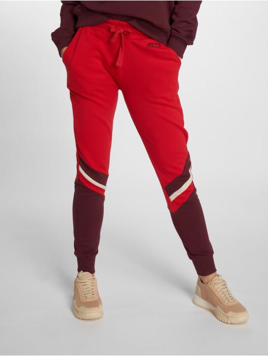 NA-KD joggingbroek Stripe Blocked rood