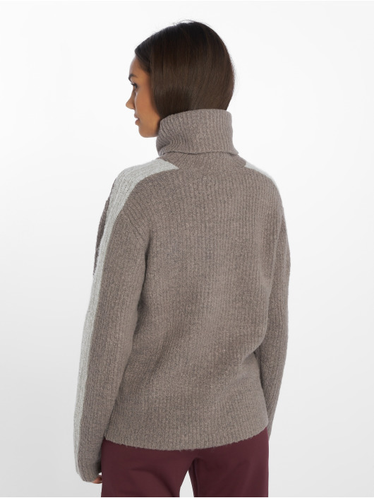 NA-KD Jumper Panel Knitted grey