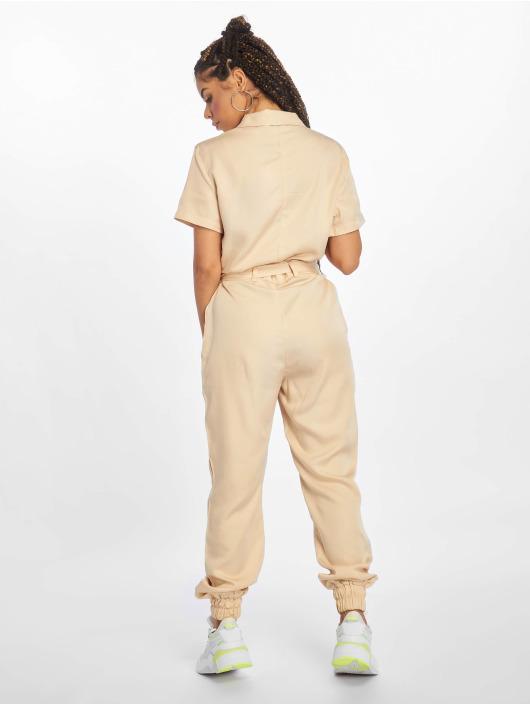 NA-KD Jumpsuit Tencel beige