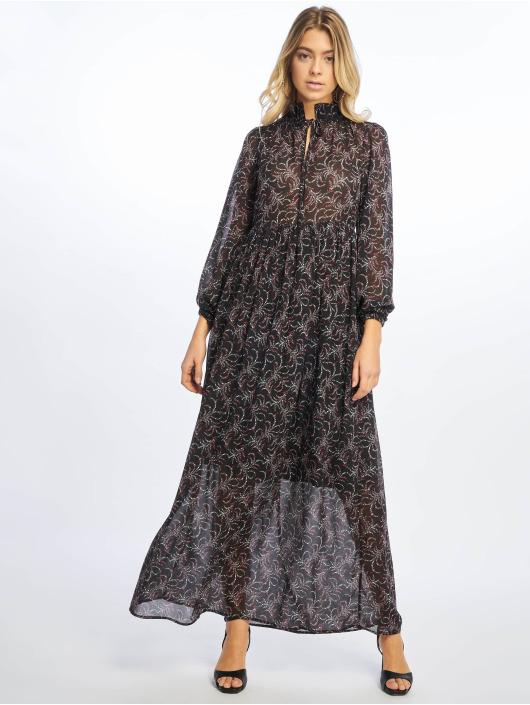 NA-KD jurk Floral Printed zwart