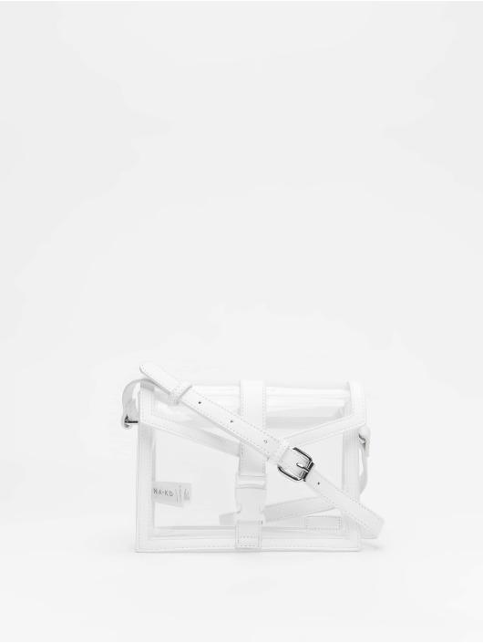 NA-KD Kabelky Transparent biela