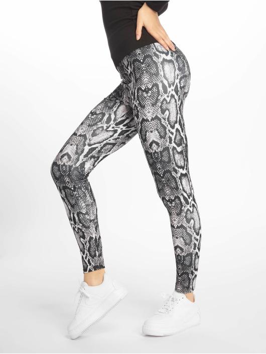 NA-KD Legging/Tregging Snake Print white