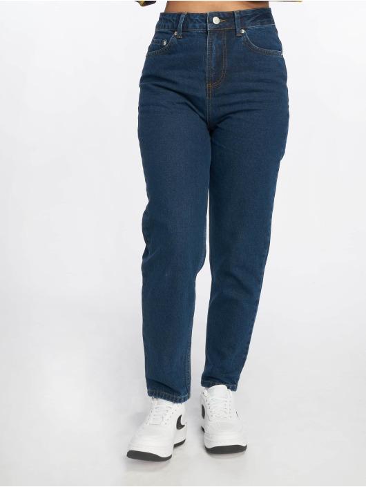 NA-KD Máma džíny Mom modrý