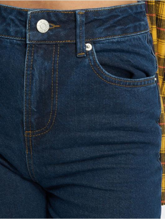 NA-KD Mom Jeans Mom blue