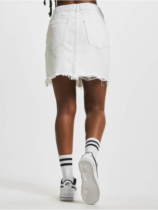 NA-KD Nederdele Distressed hvid