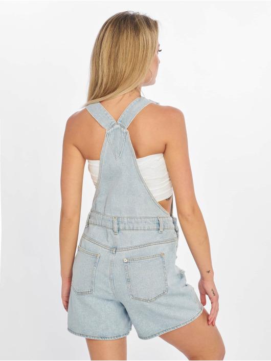 NA-KD Nohavice na traky Distressed modrá