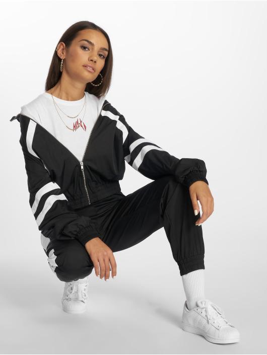 NA-KD Övergångsjackor Stripe Detailed svart