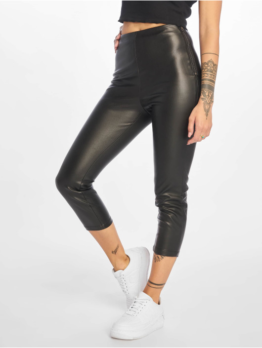 NA-KD Pantalon chino Side noir