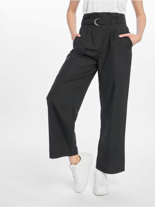 NA-KD Pantalon chino Paper noir