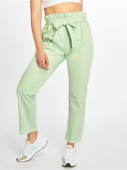 Na Chino Femme kd Paper 676799 Bag Vert Pantalon WE9IDHY2