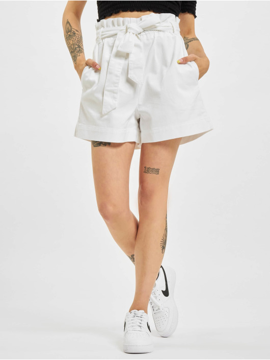 NA-KD Pantalón cortos Loop blanco