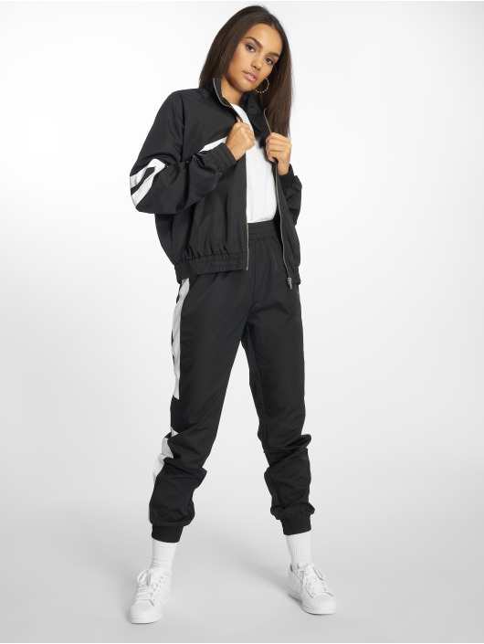 NA-KD Pantalón deportivo Side Stripe negro