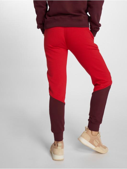 NA-KD Pantalón deportivo Stripe Blocked rojo