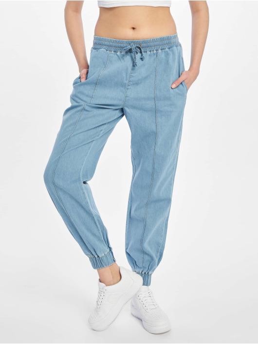 NA-KD Pantalone ginnico komfi blu