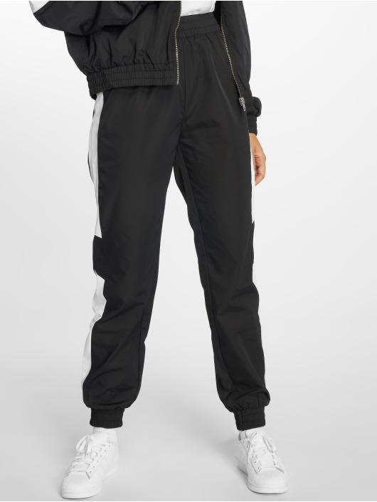NA-KD Pantalone ginnico Side Stripe nero