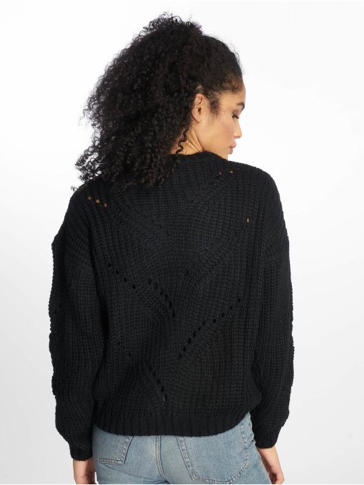 NA-KD Pullover Hole Knit black