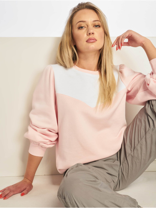 NA-KD Pullover Western rosa