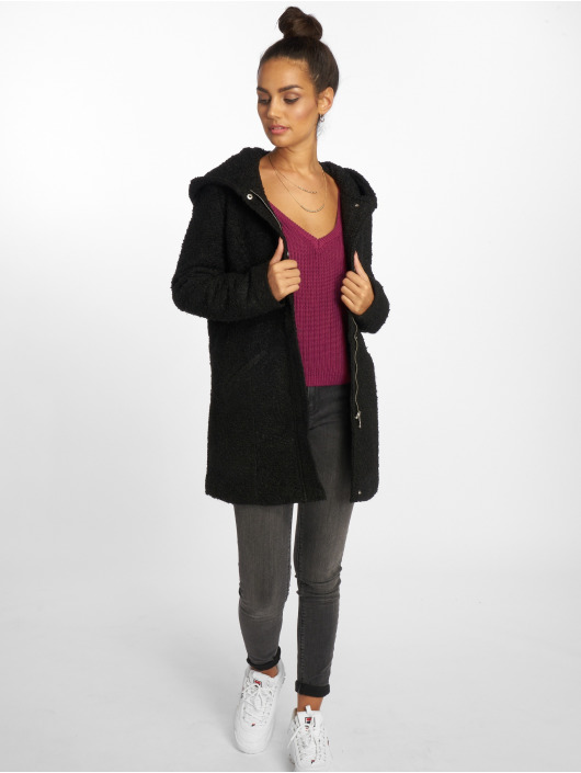 NA-KD Puserot Deep Front V-Neck Knitted vaaleanpunainen