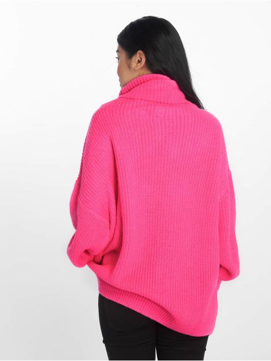 NA-KD Puserot Neon Oversized vaaleanpunainen