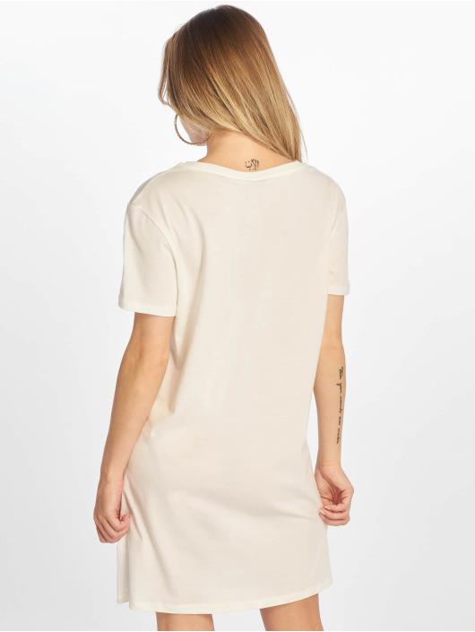 NA-KD Robe Printed blanc