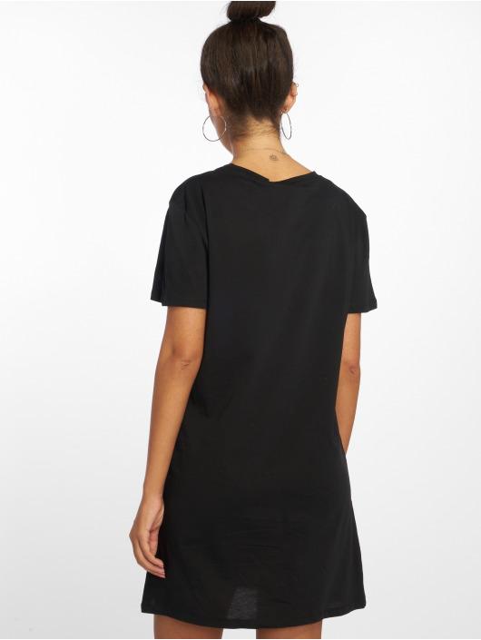 NA-KD Robe Double X noir