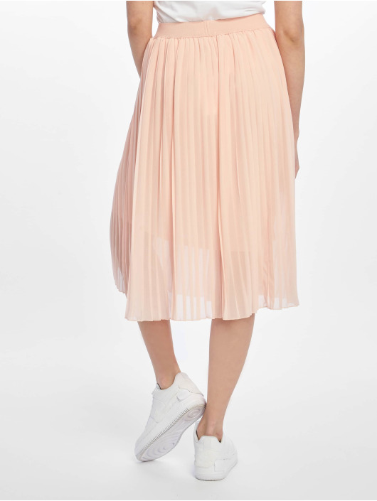 NA-KD Rock Midi Pleated rosa