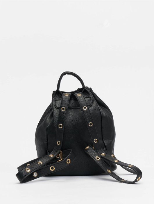 NA-KD Ryggsekker Faux Leather Drawstring svart