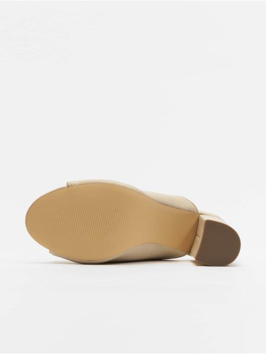 NA-KD Sandály Block béžový