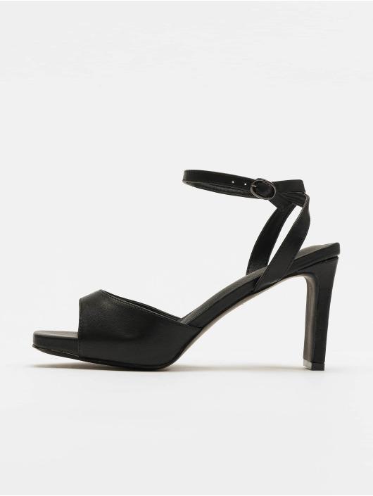 NA-KD Sandals Heeled Strap black