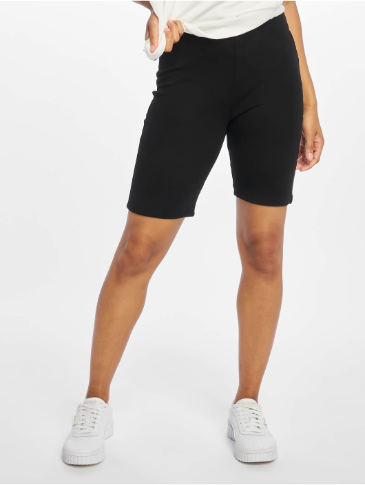 NA-KD Short Highwaist Slim Jersey black