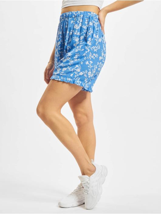 NA-KD Shorts Frill blå