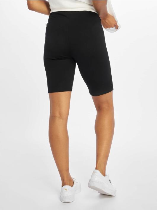 NA-KD Shorts Highwaist Slim Jersey schwarz