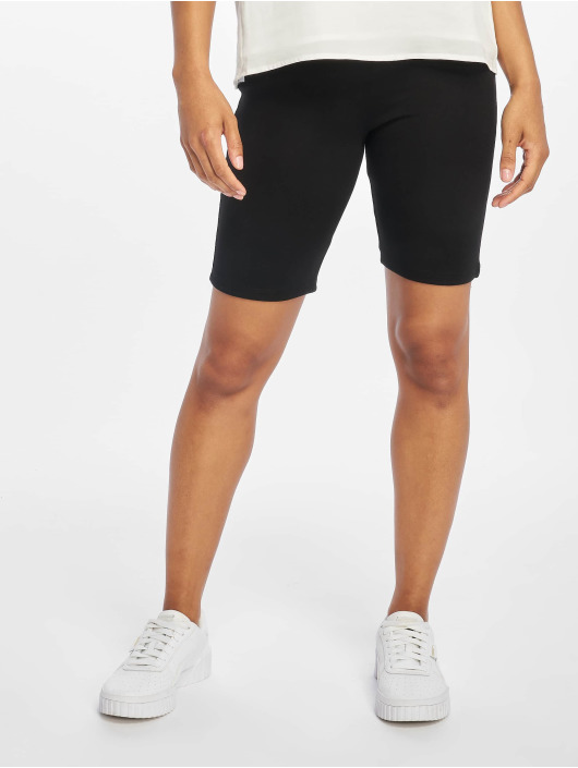 NA-KD Shorts Highwaist Slim Jersey svart
