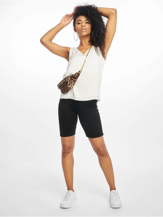 NA-KD shorts Highwaist Slim Jersey zwart
