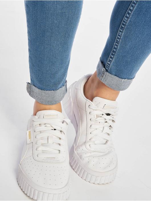 NA-KD Skinny jeans Raw Hem blauw
