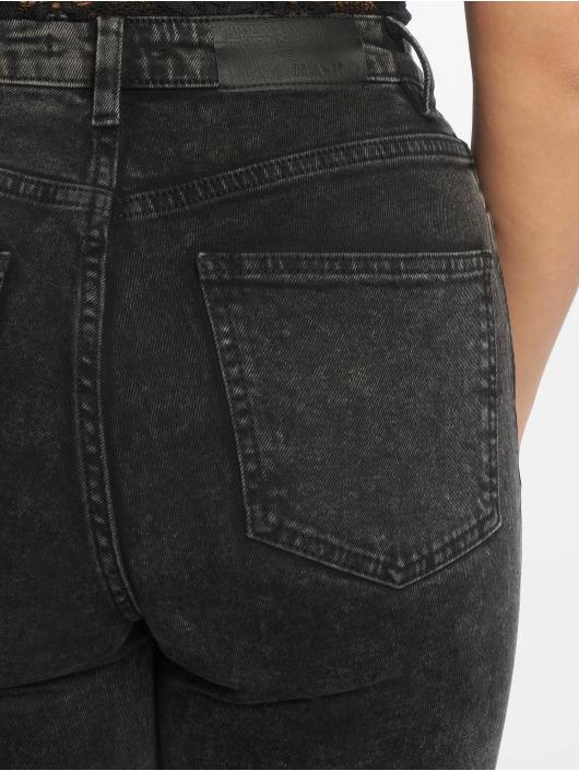NA-KD Skinny Jeans High Rise sort