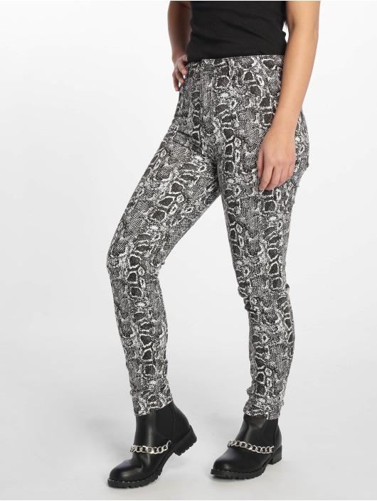NA-KD Skinny jeans Snake Printed wit
