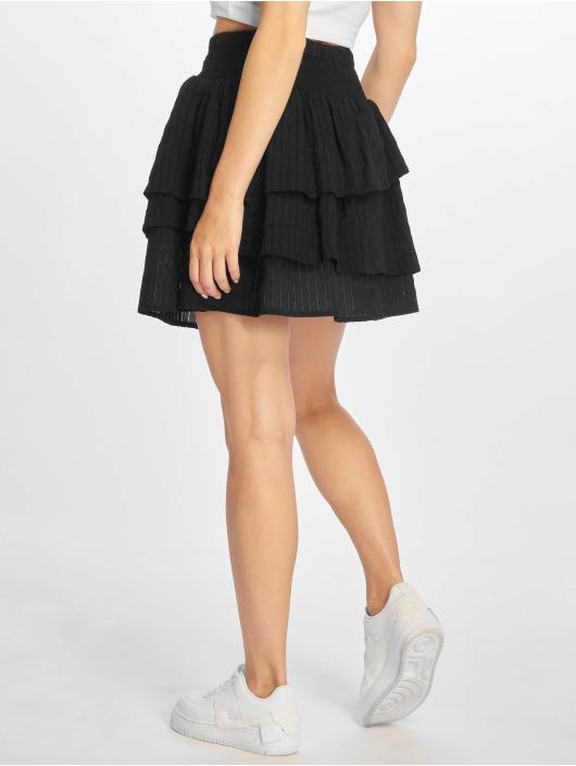 NA-KD Skirt Smock black