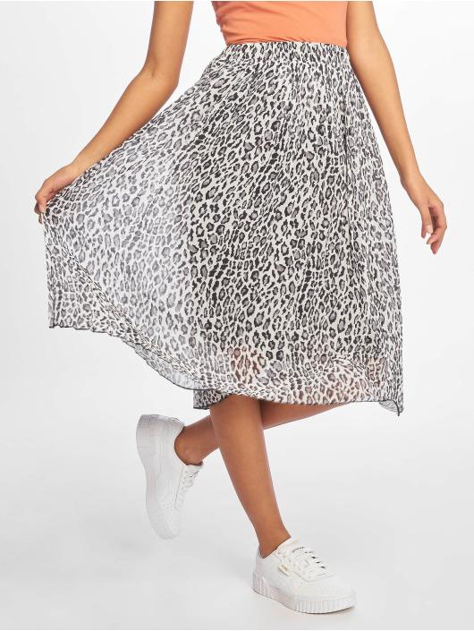 NA-KD Skirt Midi Pleated grey