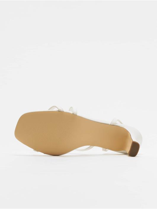 NA-KD Slipper/Sandaal Asymmetric Straps wit
