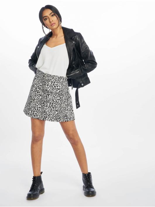 NA-KD Spódniczki Leopard Print czarny
