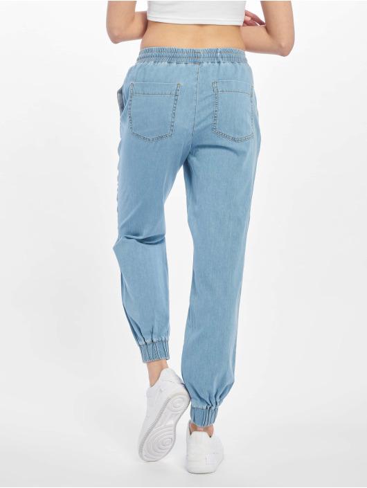 NA-KD Spodnie do joggingu komfi niebieski