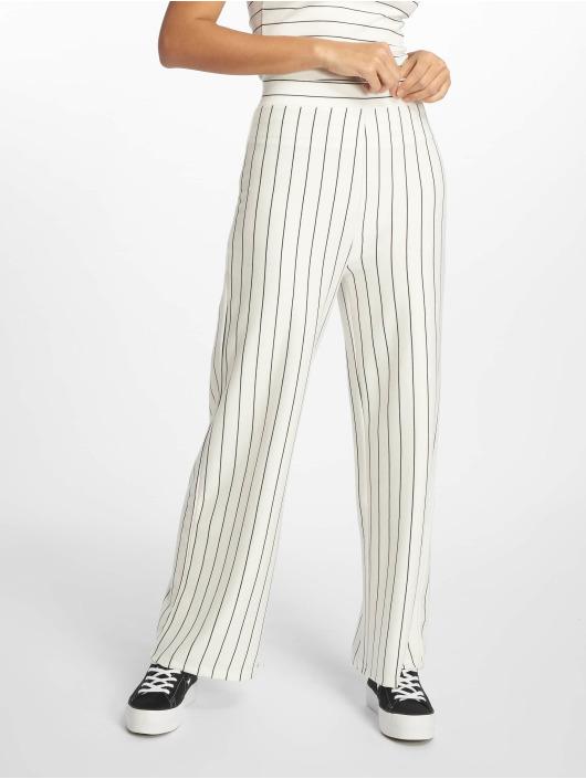 NA-KD Spodnie wizytowe Lisa Fabric bialy