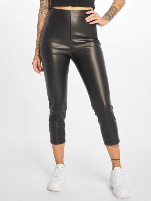 NA-KD Spodnie wizytowe Side czarny