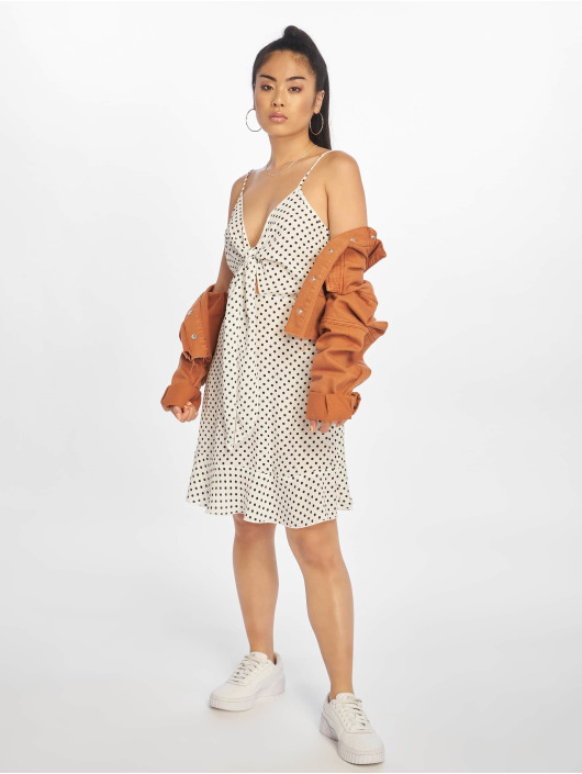 NA-KD Sukienki Mini bialy