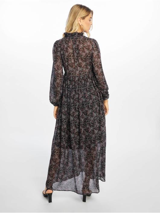 NA-KD Sukienki Floral Printed czarny